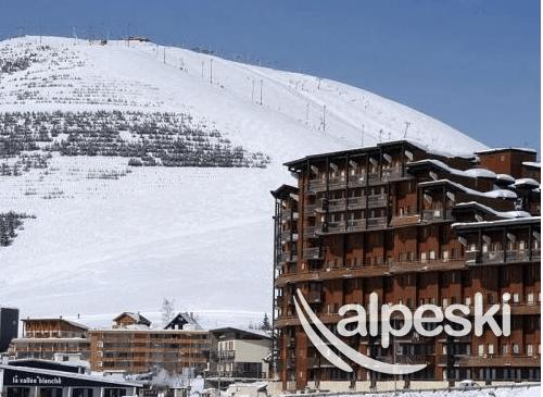 Residencia p v l 39 ours blanc alpe d huez alpes franceses for Alojamiento estancia 25m2