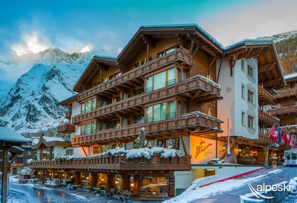 Hotel Ferienart, Saas Fee, Suiza - Alpeski Especialistas ...